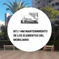 NTJ 14M MANTENIMIENTO DE LOS ELEMENTOS DEL MOBILIARIO